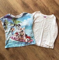 T-shirt and longsleeve