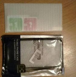 Θήκη και γυαλί για Samsung a7