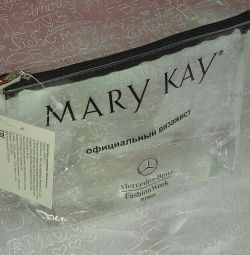 Cosmetic bag transparent