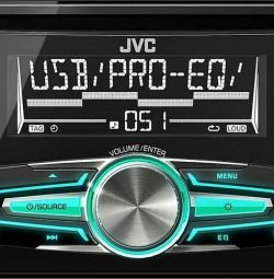 Новая, гарантия 2 DIN Автомагнитола JVC KW-R520