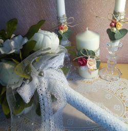 Buchet de nuntă rustică