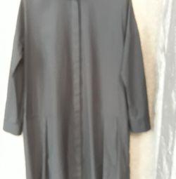 Платье-халат-плащ 46-50