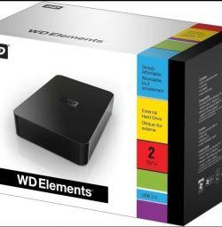 Hard disk extern WD 1,5tb (staționar)