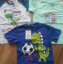 Yeni tişörtler