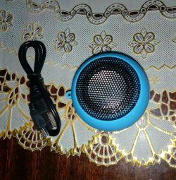 Mini taşınabilir ses yükseltici yeni