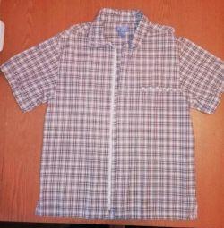 Рубашки рост 146-152