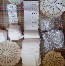 Кружево и шитье для рукоделия