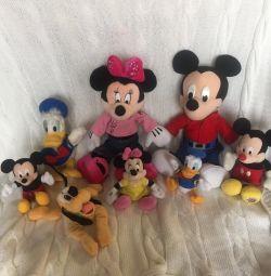 Микки Маус и компания, все игрушки фирменные
