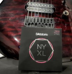 Strings d / 8 string electric guitar, thickness 09-80