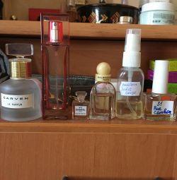 залишки парфуму