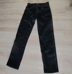 warm jeans on the fleece