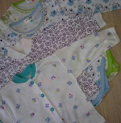 Детские новые вещи пакетом, размер 74-80