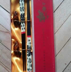 Gift set for happiness Chinese sticks