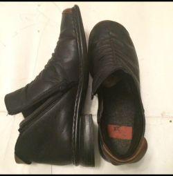 Ботинки кожаные Rieker antistress 37 Р. Еврозима