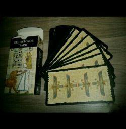 Egyptian tarot cards. GAMES .