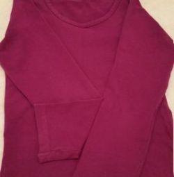 Βαμβακερή μπλούζα για κορίτσια
