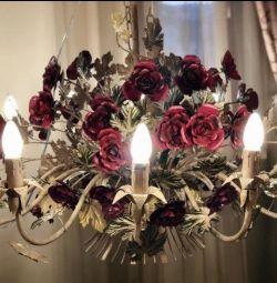 Люстра.Продажа выставочных образцов.Roses
