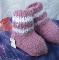 Носочки, пинетки для деток