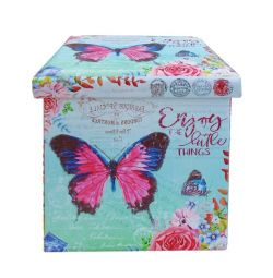 PU STOCK WITH BUTTERFLY 38X38 STORAGE SPACE
