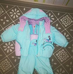 Зимний, теплый костюм Orby р-р 80+6 обмен
