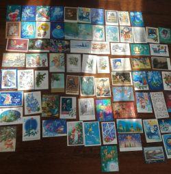 Vintage kartpostallar