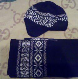Σετ καπέλο και κασκόλ
