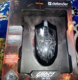 Провідна ігрова миша Defender Ghost GM-190L