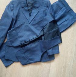 klasik okul takım elbise