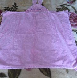 Towel for a newborn baby