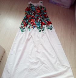 Dress on the floor (possible at graduation)