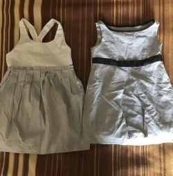 Κομψά φορέματα για κορίτσια 2-3 ετών