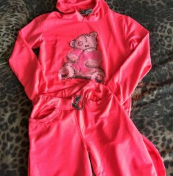 Tracksuit for women. Warm.