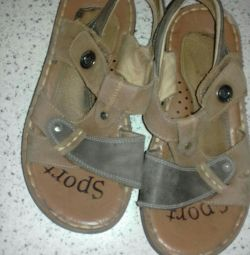 Sandals for boy size 36