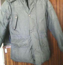 Зимова куртка з капішоном