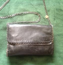 Leather bag used Italy