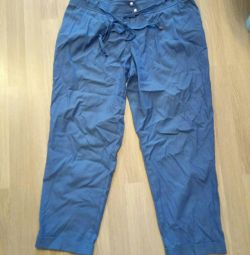 Trousers 7/8, size 48-50