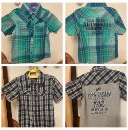 Рубашки Blue Seven Германия 3-4 года