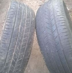 225-65-R17 A pair of summer tires Goodyear