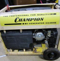 бензогенератор hampion GG4800E
