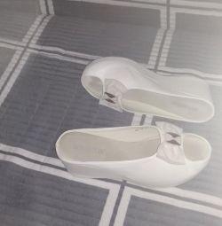 Pantofi din piele flip flops