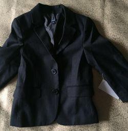 Новые пиджак и жилетка