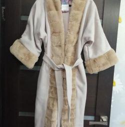 New cashmere coat