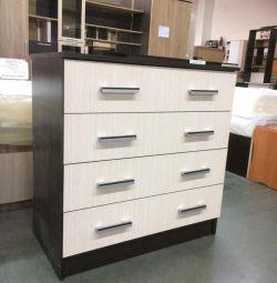 Dresser 800 4 sertare wenge \ belfort