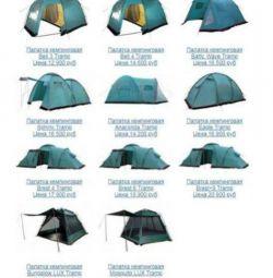 Camping de vară Corturi 2, 3, 4, 6 locuri