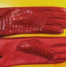 Mănuși din piele autentică p. 7.5