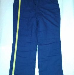 Pants wadded