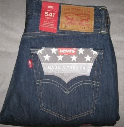 🇺🇸 LEVIS 541 made in USA rinsed 31 32 33 36 38