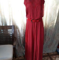 Длинное платье.42 р.