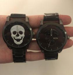New steel watch