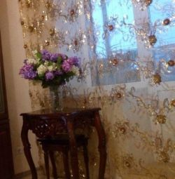 French fabric on curtains - for connoisseurs of beauty